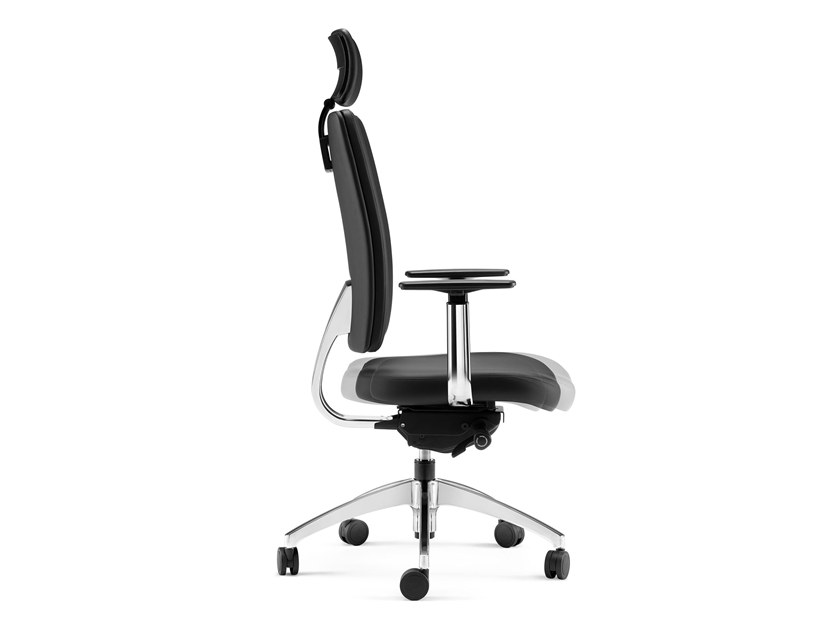 High-back executive chair with 5-spoke base PROGRESS | High-back executive chair by Arte & D