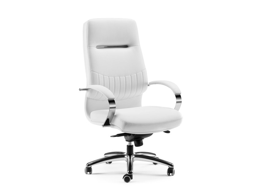 High-back executive chair with 5-spoke base SELECTA | High-back executive chair by Arte & D