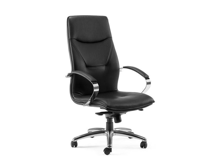 High-back executive chair with 5-spoke base SADIA PLUS | High-back executive chair by Arte & D