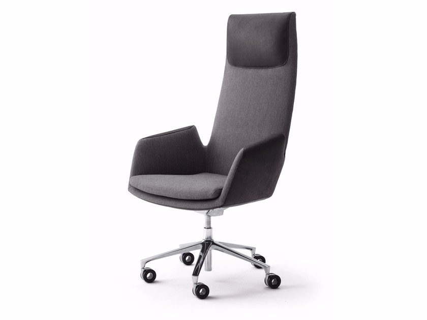 Swivel high-back executive chair CORDIA PLUS | High-back executive chair by COR