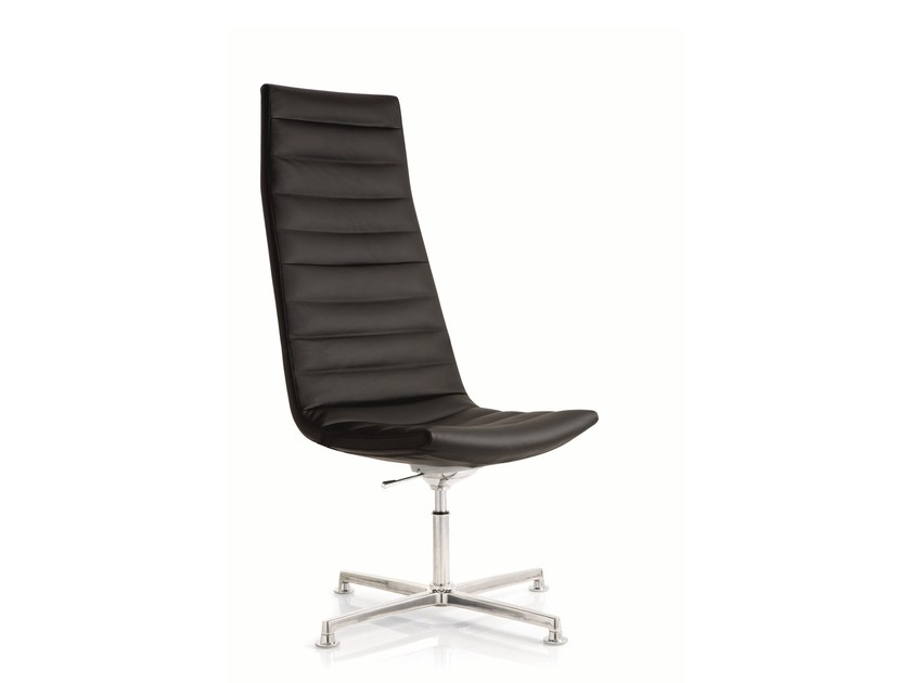 Swivel task chair with 4-Spoke base KEY | Swivel task chair by Emmegi