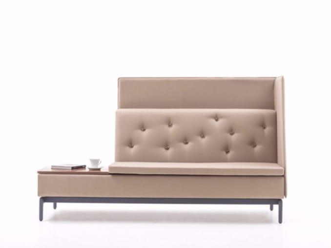 High-back sofa EXE | High-back sofa by ersa