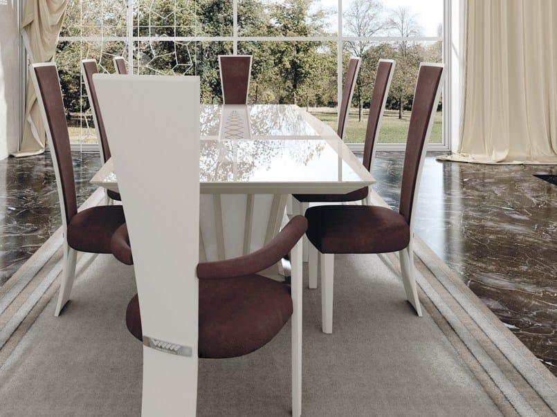 Sedie Design Schienale Alto.Sedia In Pelle Con Schienale Alto High Chair Sedia Vismara Design