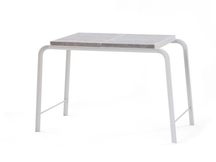 Rectangular NewspaperWood high side table TABLOID | High side table by Vij5