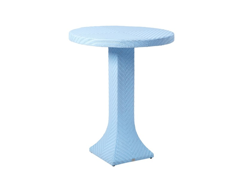 Round high table DORIC | High table by 7OCEANS DESIGNS