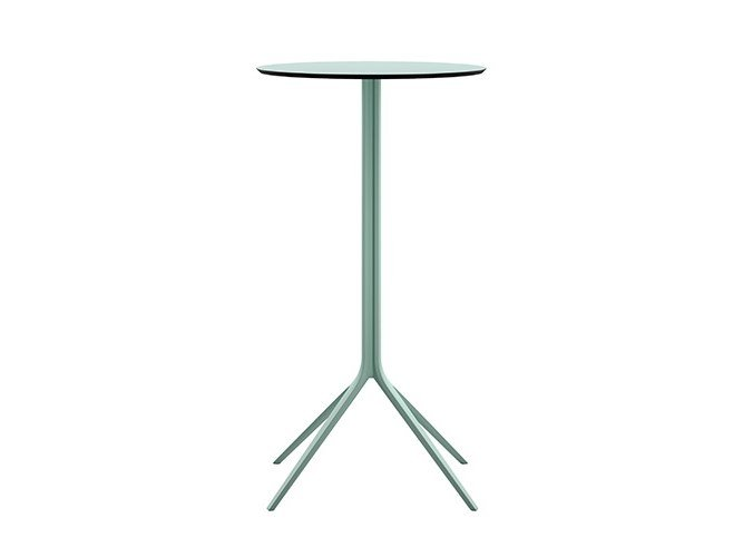 Round HPL high table MOMO | High table by Albaplus
