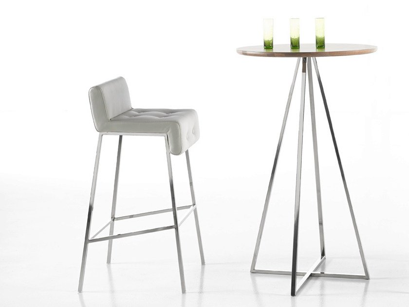 Round High Table Montera By Altinox
