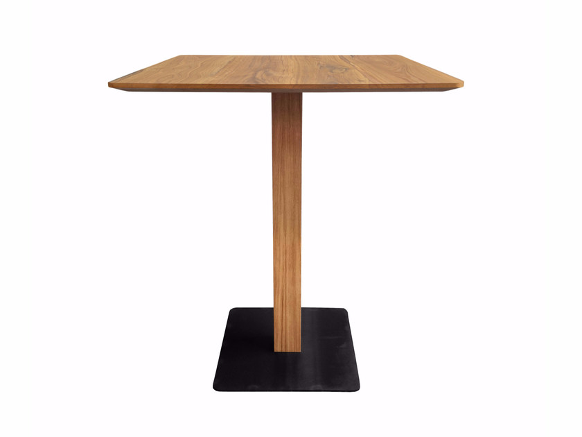 Square wooden high table MODUL PLUS | High table by KFF