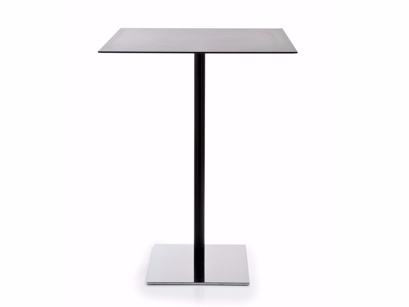 Square HPL high table INQUADRO | High table by Luxy