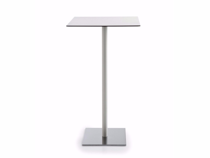 Square MDF high table INQUADRO | High table by Luxy