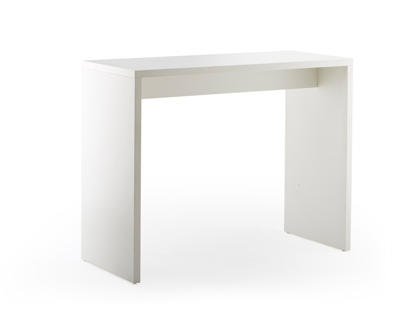 Lacquered rectangular high table LIMES | High table by rosconi