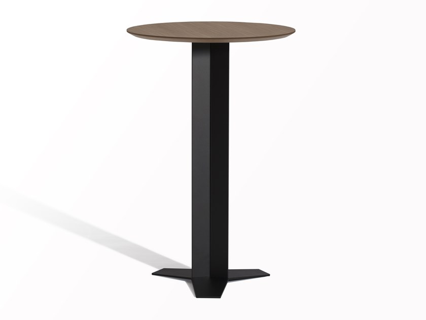 Round high table TRI-STAR | High table by Capdell
