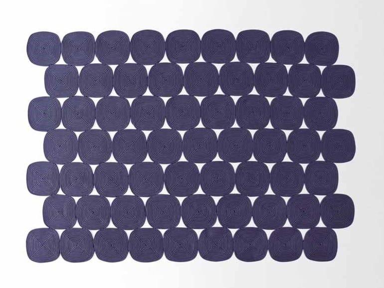 ZOE | Tappeto rettangolare Collezione High Tech By paola lenti