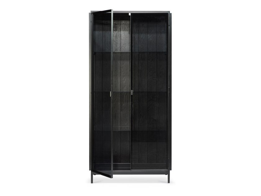 Metal highboard with doors ANDERS | Highboard by Ethnicraft