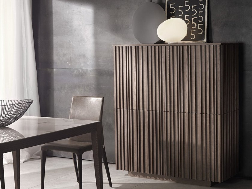 Highboard with doors LINE   Highboard by Pacini & Cappellini