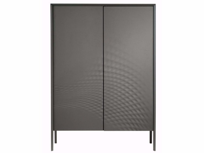 Lacquered highboard with doors MOOREA | Highboard by ROCHE BOBOIS