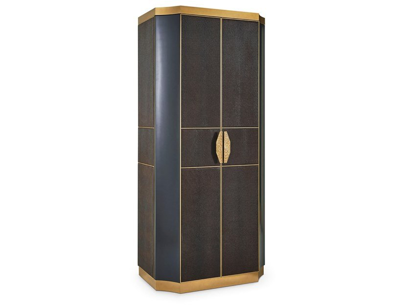 Lacquered highboard with doors SAVOY | Highboard by Sicis