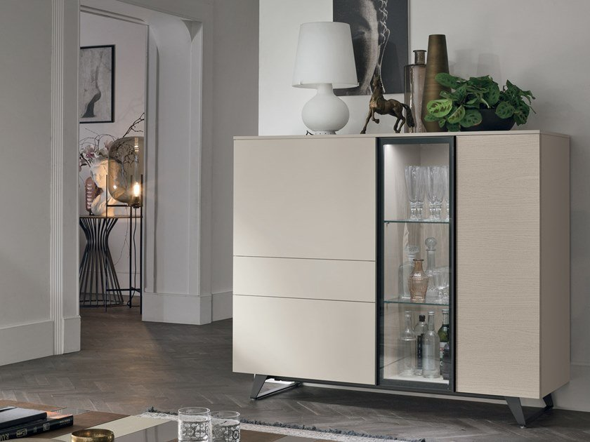 Highboard with doors METROPOLIS | Highboard by Gruppo Tomasella