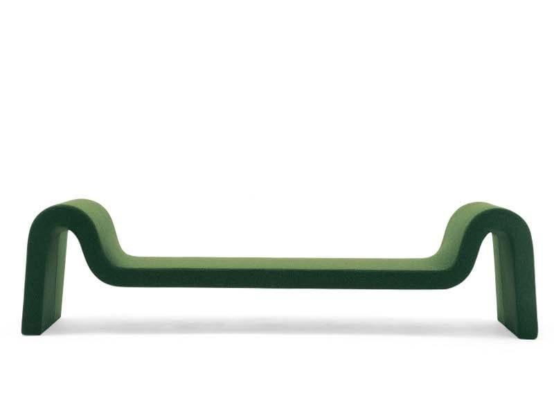 Bench with fire retardant padding LONGWAY F IH50 by Segis