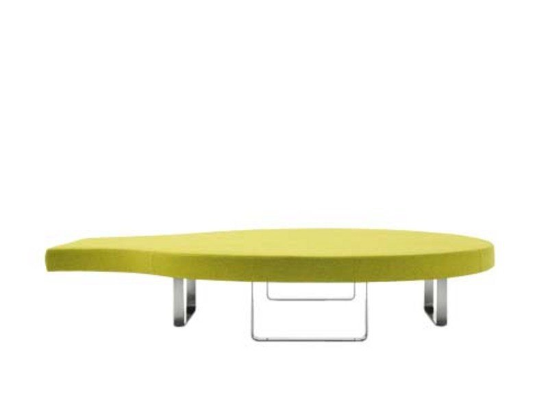 Round upholstered bench LONGWAY R by Segis