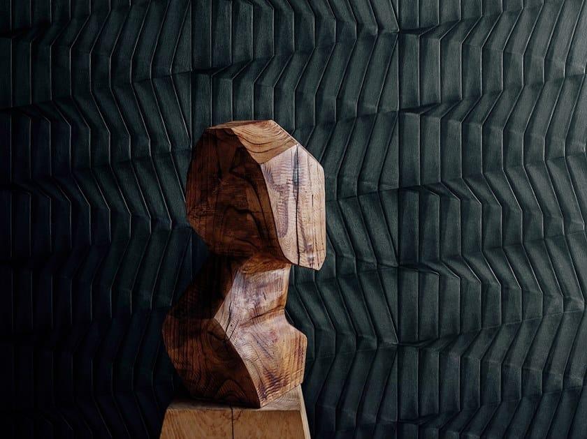 Carta da parati a rilievo in vinile HIKARI by Wall&decò