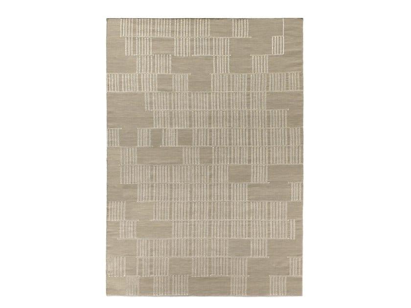 Handmade wool rug HILO BEIGE by Tacto