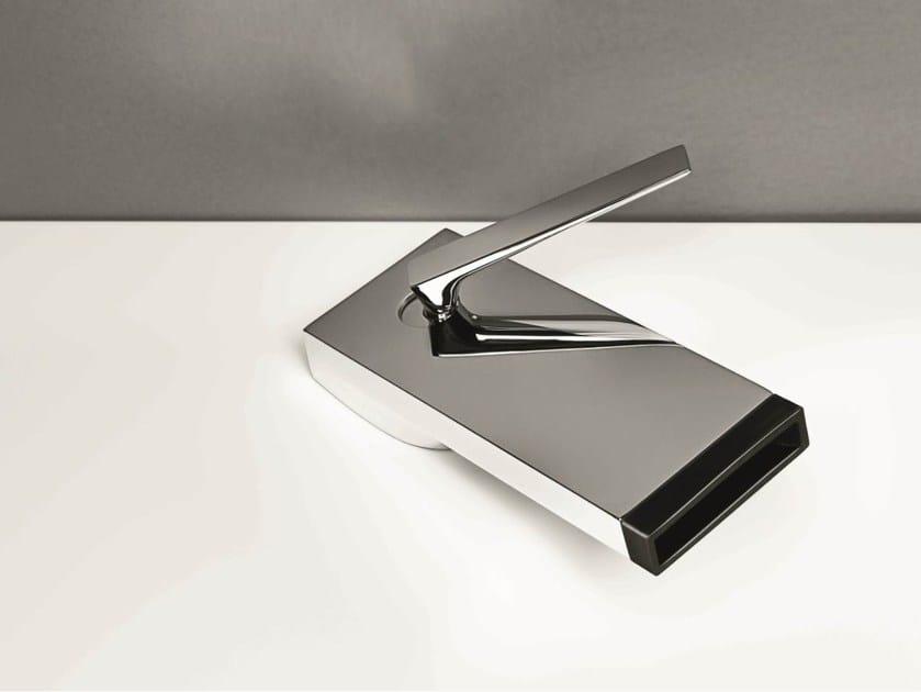 Single handle chromed brass washbasin tap HIM | Washbasin mixer by ZUCCHETTI