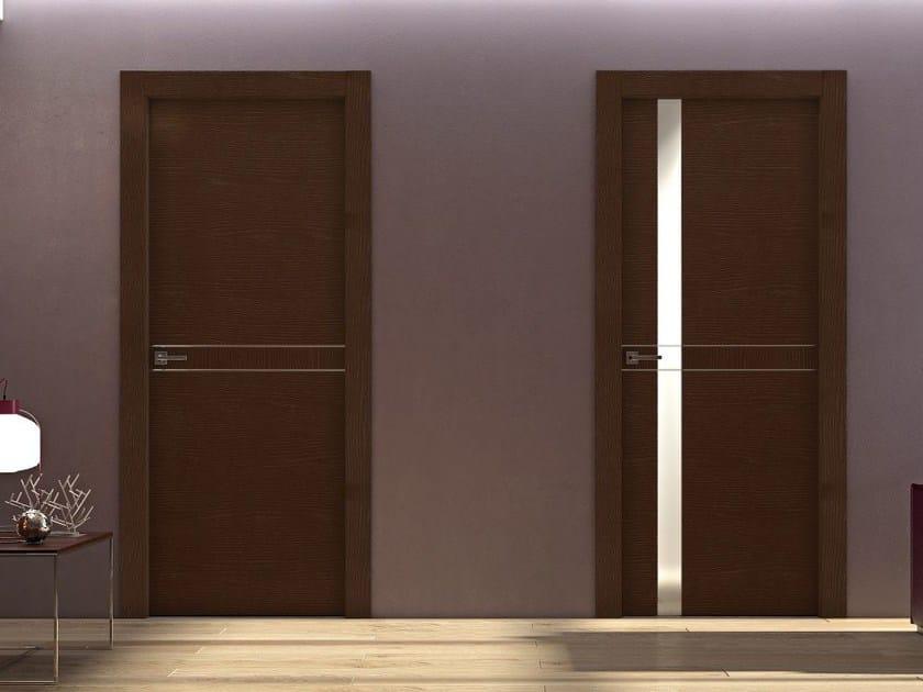 Hinged wooden door DEMETRA | Hinged door by Pail Serramenti