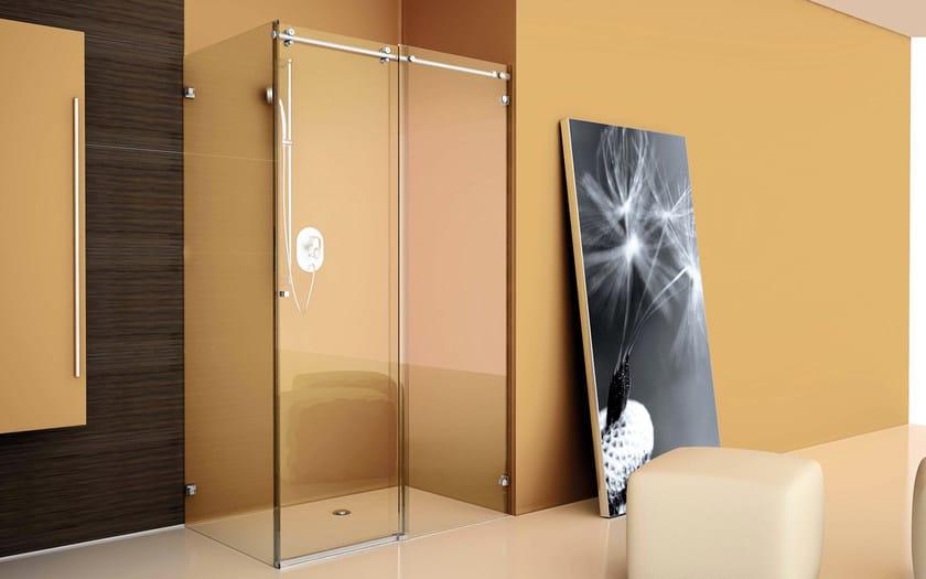 Sliding system for shower HIP ZAC By Colcom Group