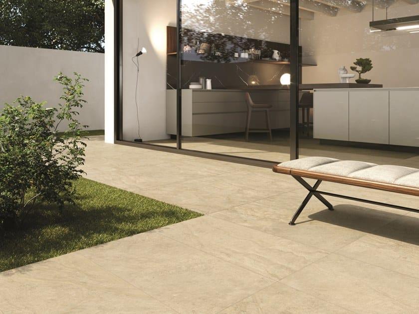 Pavimento/rivestimento in gres porcellanato effetto pietra per interni ed esterni HISTORICA CHATEAUX by Marca Corona