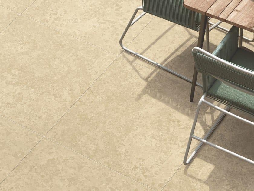 Pavimento/rivestimento in gres porcellanato effetto pietra per interni ed esterni HISTORICA RIALTO by Marca Corona