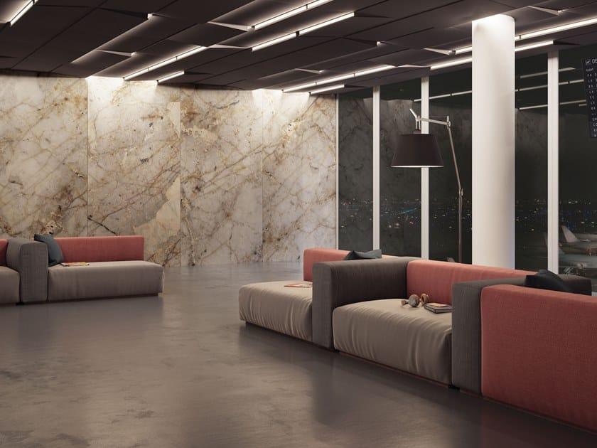 Resin Decorative panel HIVA OA by Tecnografica Italian Wallcoverings