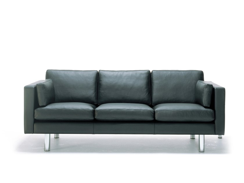 Leather sofa HJM SOFLEX 120 | Sofa by Stouby