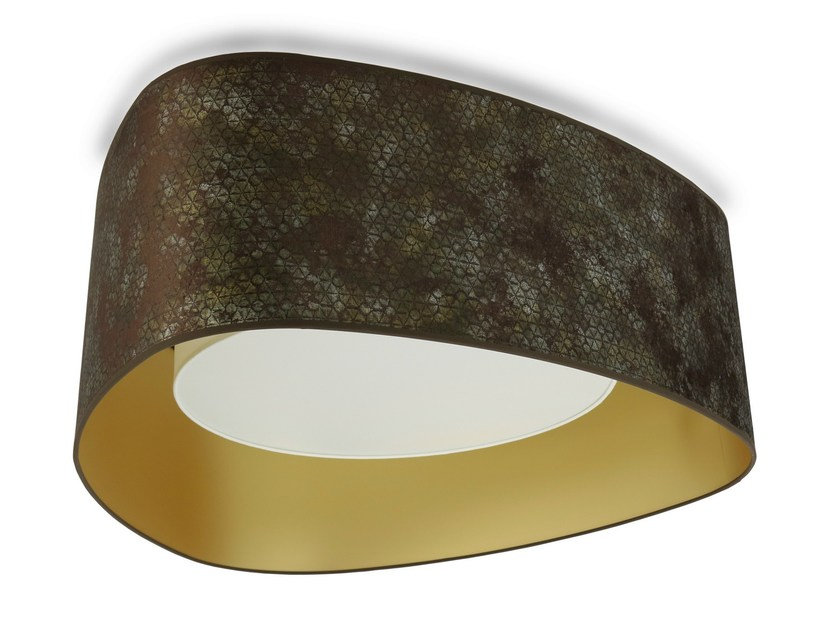 Metal ceiling lamp HGL915-CL by Hind Rabii