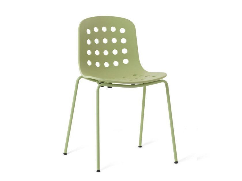 Garden chair HOLI - OPEN SHELL | Garden chair by TOOU