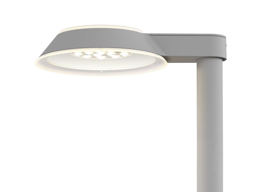 Lampione stradale a LED in alluminio pressofuso HOMANN PARK by Louis Poulsen
