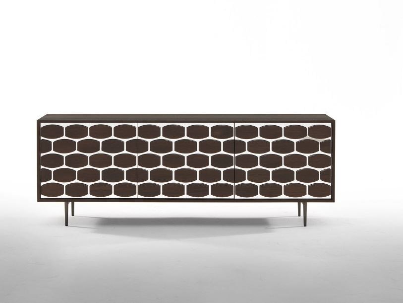 Wood veneer TV cabinet / sideboard HONEY | Sideboard by Tonin Casa