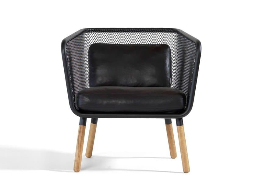 Steel easy chair HONKEN | Easy chair by Blå Station