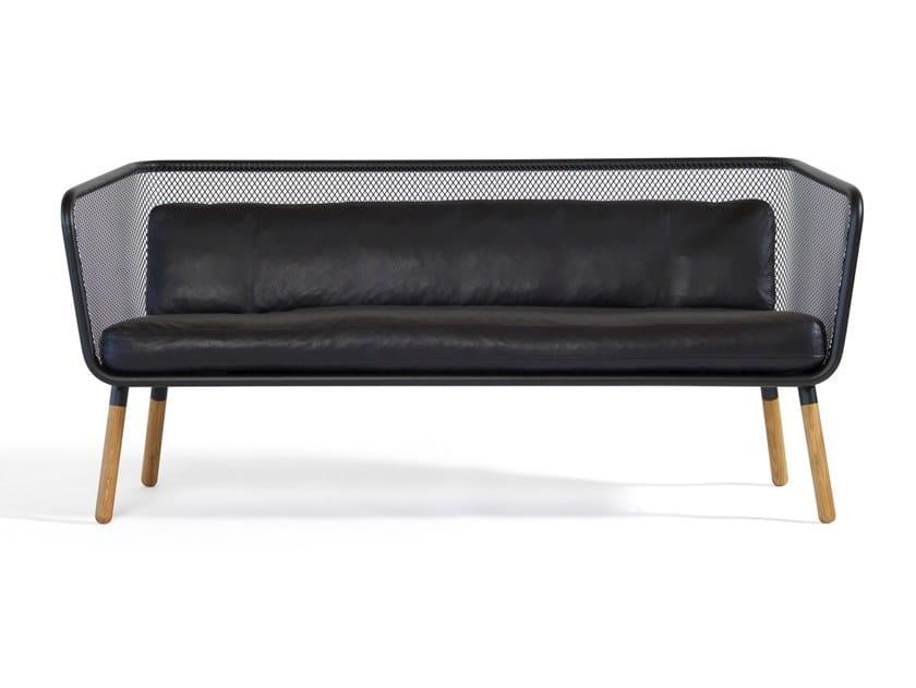 Steel sofa HONKEN | Sofa by Blå Station