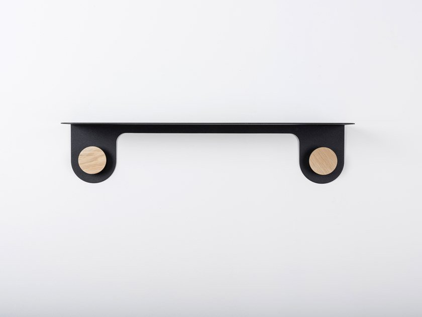 Mensola in acciaio HOOK | Mensola by Gazzda