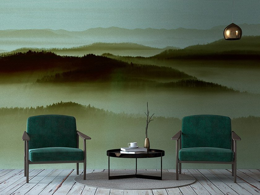 Digital printing landscape wallpaper HORIZON by Architects Paper