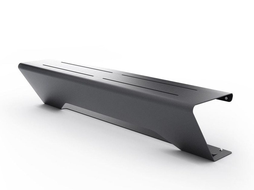 Backless steel Bench HORIZON | Backless Bench by LAB23