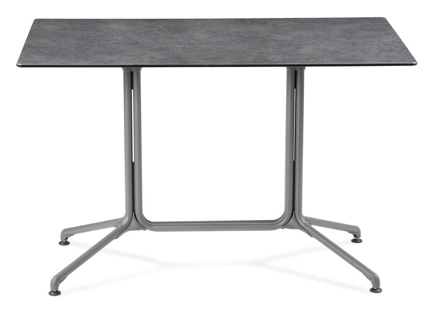 Rectangular drop-leaf garden table HORIZON | Rectangular table by Lafuma Mobilier