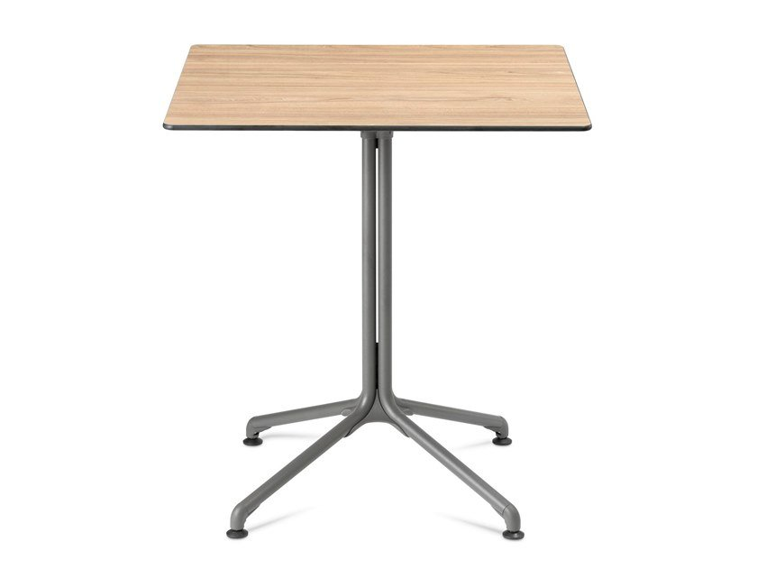 Square drop-leaf garden table HORIZON | Square table by Lafuma Mobilier