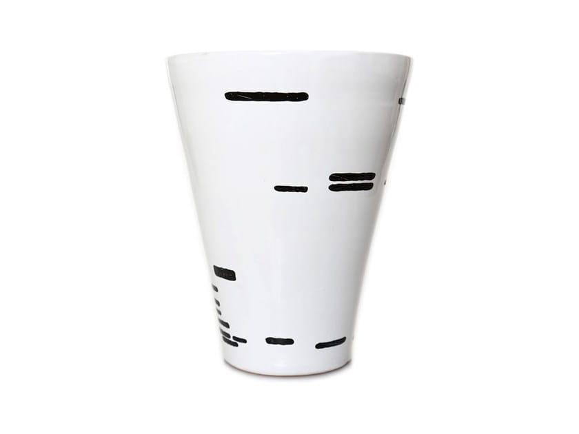 Ceramic vase HORIZONTAL II by Kiasmo