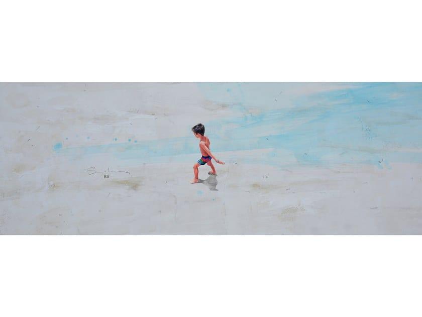 Canvas Painting Horizonte verde agua by NOVOCUADRO ART COMPANY