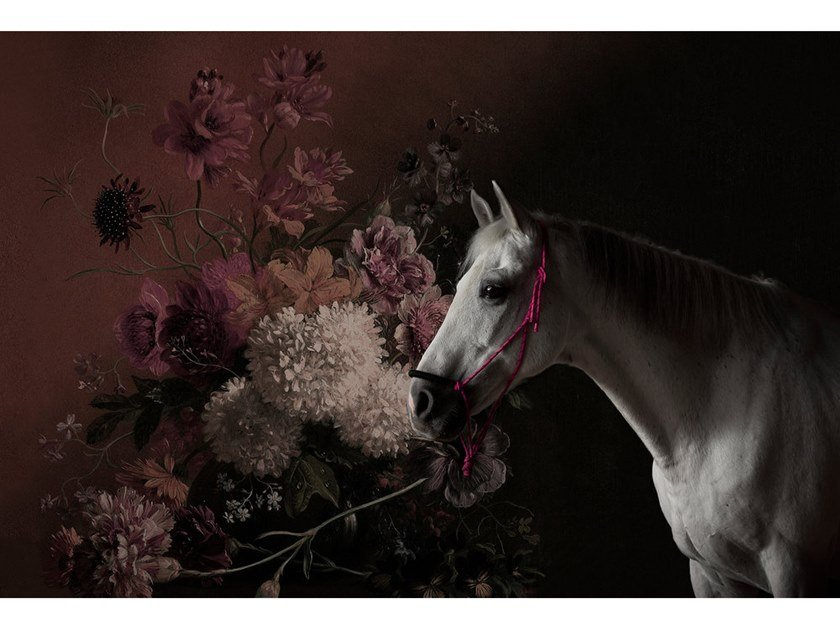 Digital printing wallpaper HORSES by Architects Paper