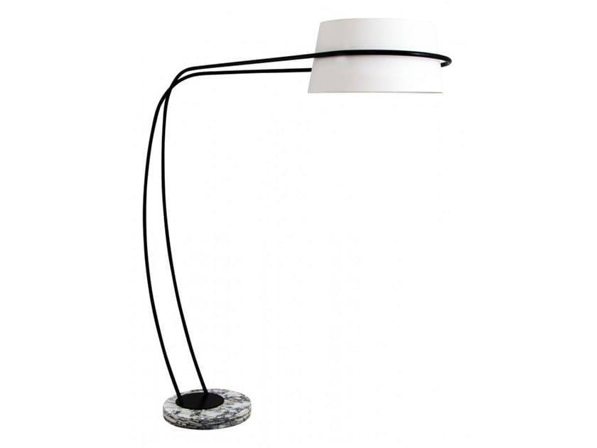 Metal floor lamp HORTA by Flam & Luce