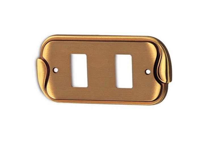 Brass wall plate HORUS CLASSIQUE   Wall plate by Pasini