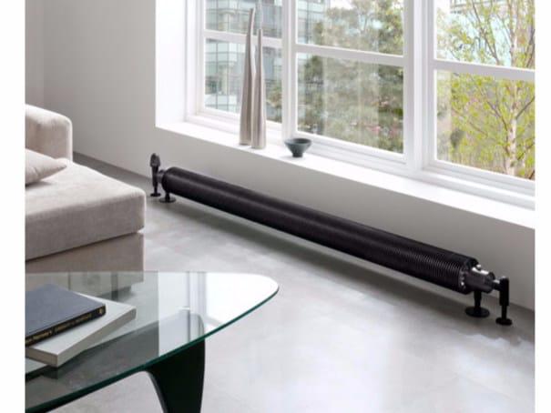 Radiatore a pavimento orizzontale hot form radiatore a pavimento